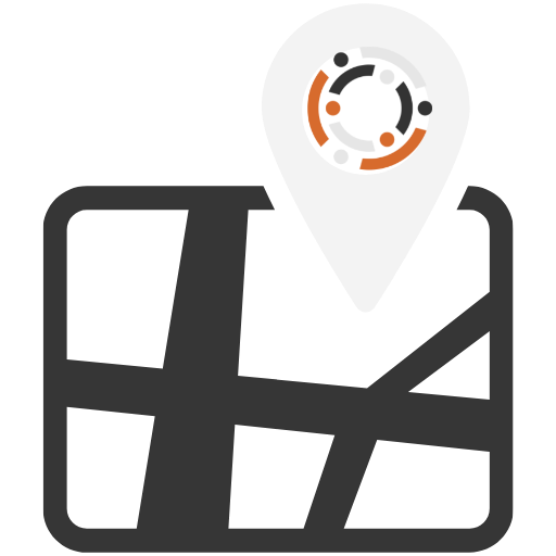 Regional map icon