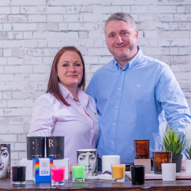 Duncan MacLean and Cheryl  MacLean of Candle Shack